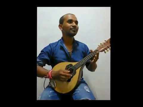 thuje dheka thoye Hindi song Mandolin cover by Prashan ....