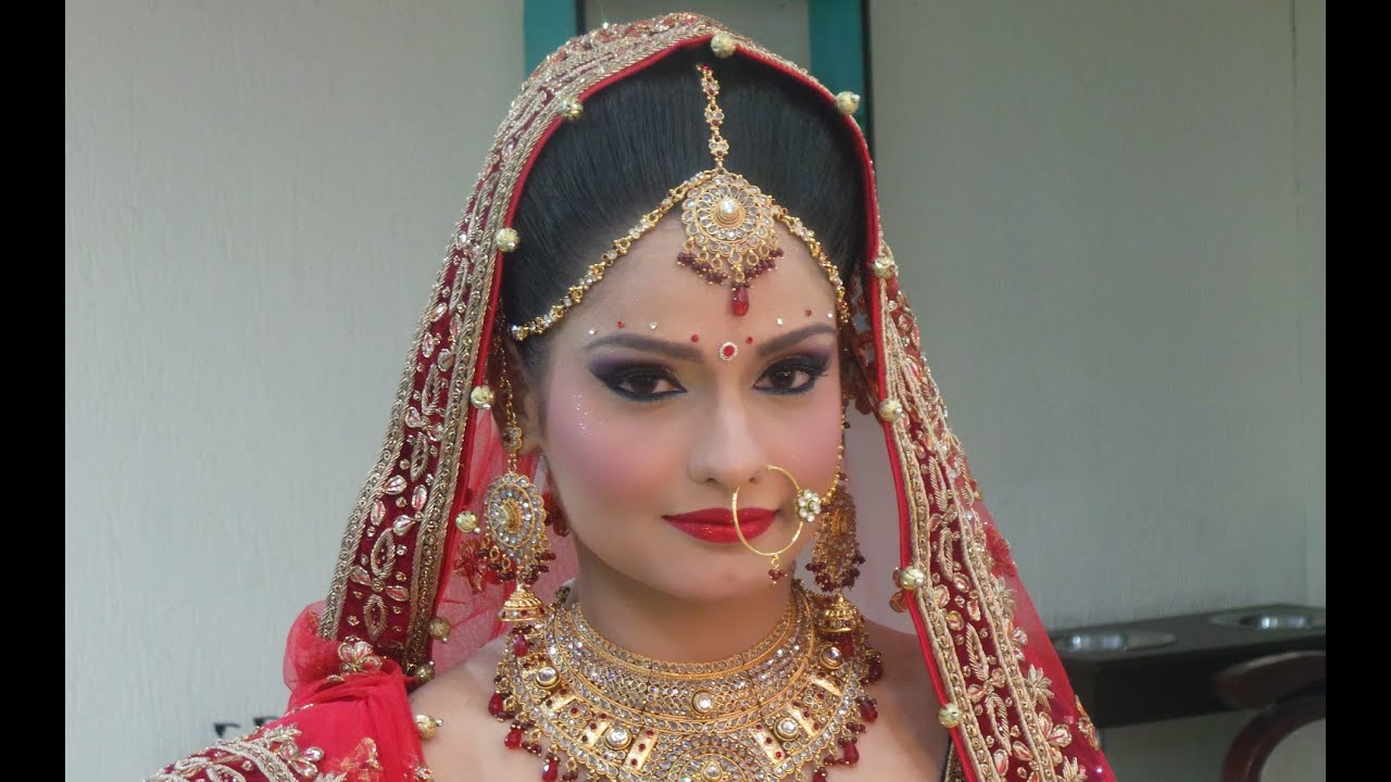 Indian Bridal Makeup Modern Look Youtube