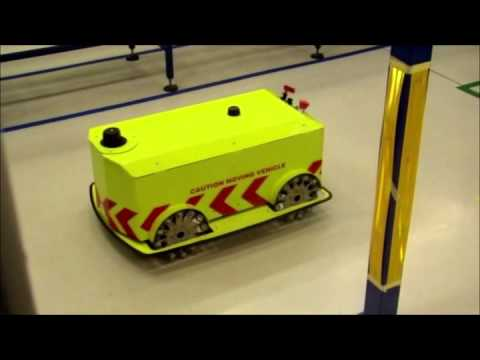 AGV (Automated Guided Vehicle) at eNtsa, NMMU, South Africa