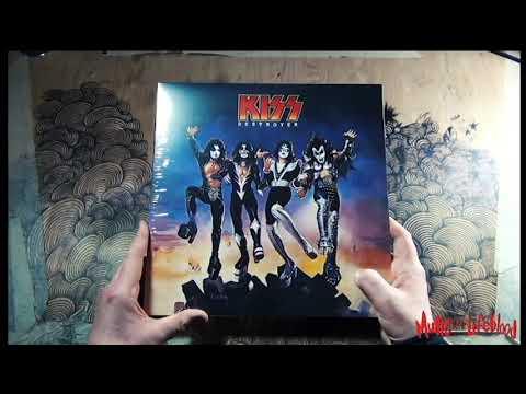 Music the Lifeblood - Vinyl Thursday - Kiss - Destroyer Red & Black Swirl Vinyl
