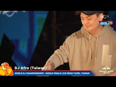 Red Bull 3Style 2019 - Final Night - DJ Afro