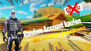 I BUY An ACCOUNT WITH *RANDOMS* SKINS AND BE SCAMMT | Fortnite BR/RDW
