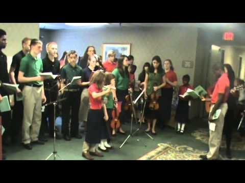 Stedfast Christian Academy caroling 2013 - part 3