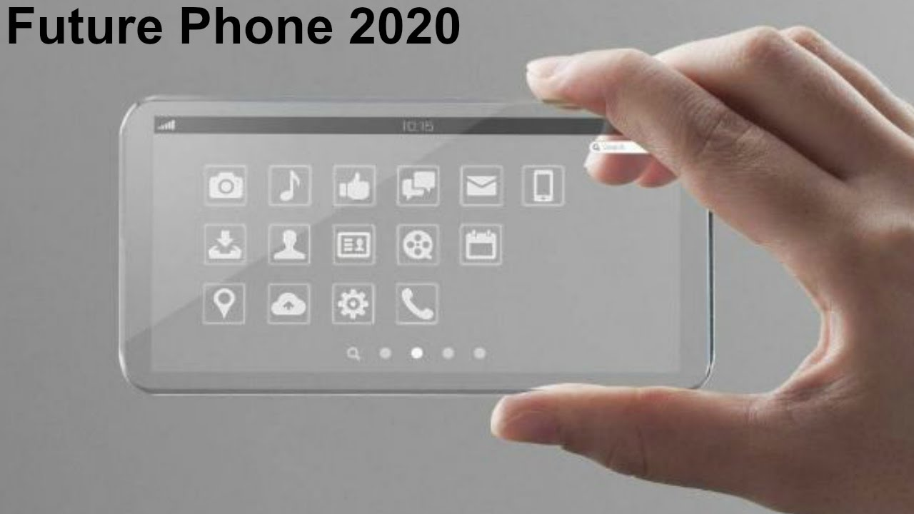 2020 Future Phone Next Generation Mobile Phones