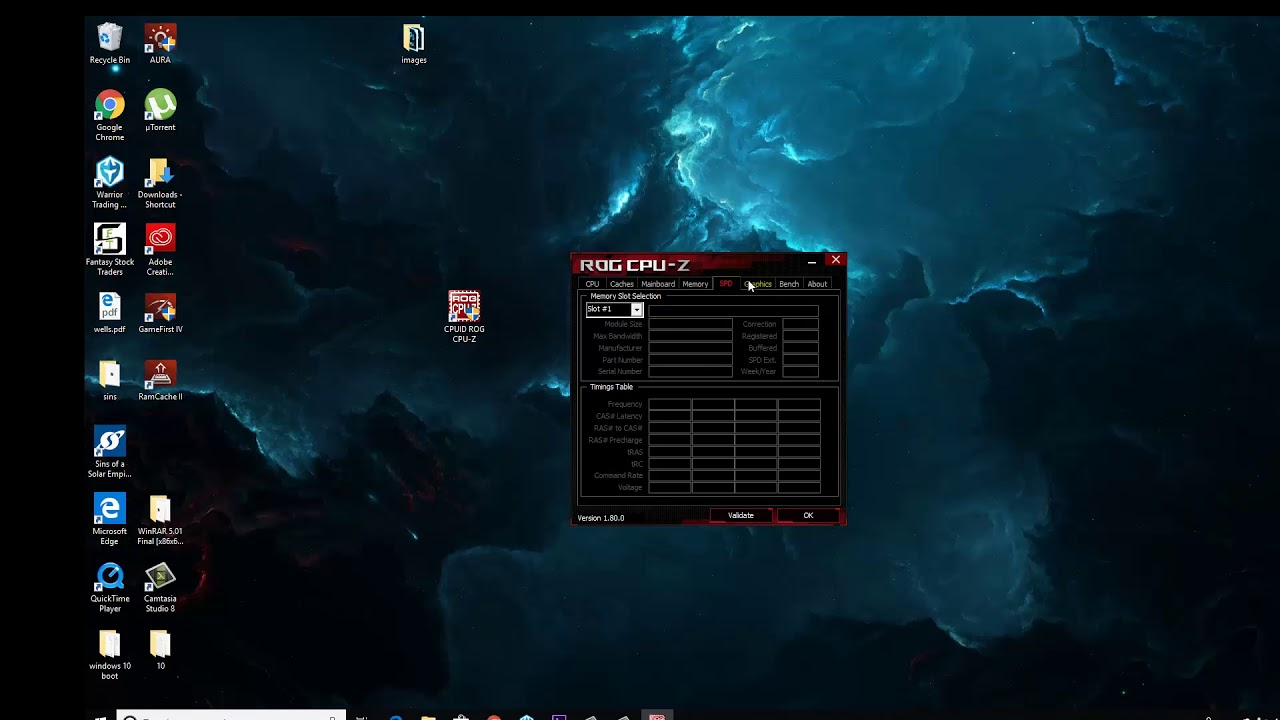 Free Software For Your Pc Specs - Rog Cpu Z