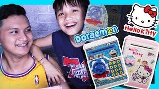 DORAEMON AND HELLO KITTY MINI-ATM? Subukan na yan!