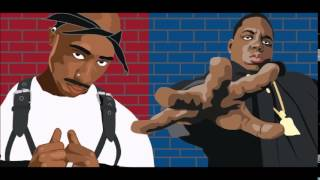 Tupac Shakur and Biggie Smalls- Lets Get It On (Midi Mafia Remix)