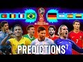 FIFA World Cup Russia 2018 *PREDICTIONS* · Final Version