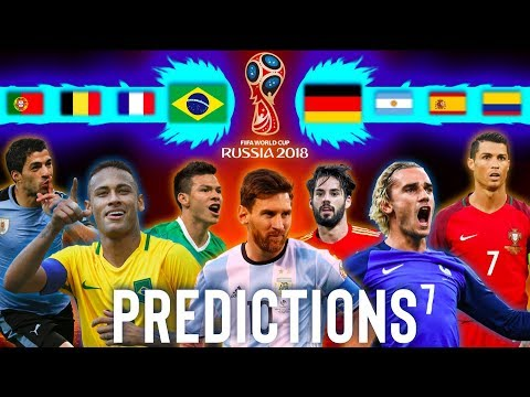 FIFA World Cup Russia 2018 *PREDICTIONS* · Final Version