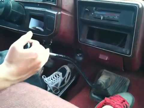 A discussion on driving a manual transmission