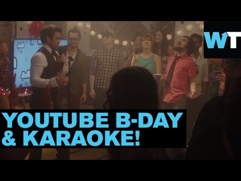 YouTube Celebrates 9th Anniversary with Epic Star Karaoke Party | What's Trending Now