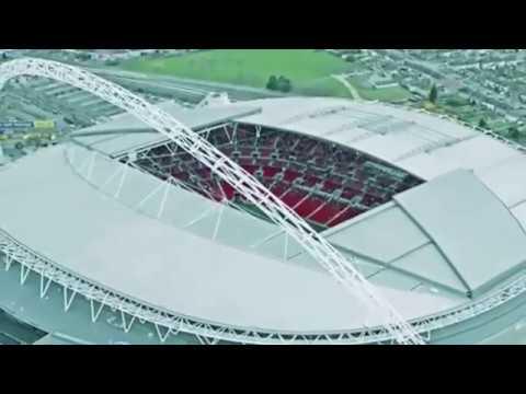 Wembley Football Stadium in UK