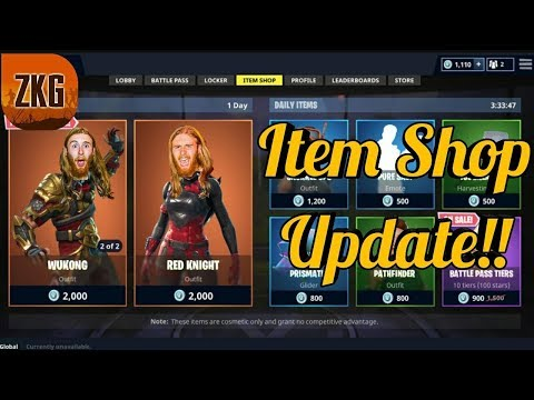New Skins Now Available In The Item Shop Fortnite Season6