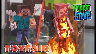 Minecraft Jazwares Figures Series 4 & 5 TOY FAIR 2018 Lineup EXCLUSIVE Action Figure Checklist