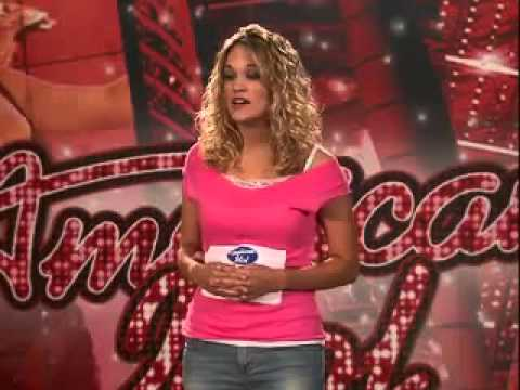 Carrie Underwood Audition At American Idol Youtube