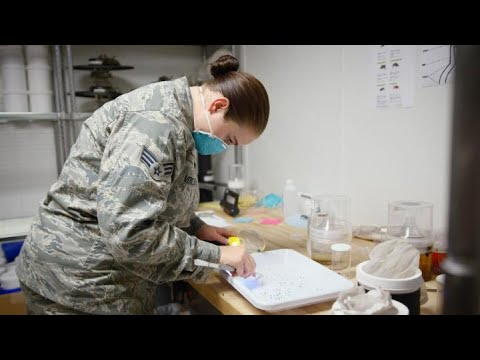 U.S. Air Force: Capt Steven Sierra Alcabes, Public Health Officer