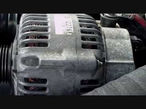 Remove The Alternator On A Jeep Grand Cherokee Wj 3 1 Td Year 2000