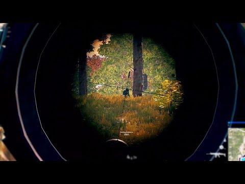 Silenced Kar98k Sniping! (BattleGrounds)