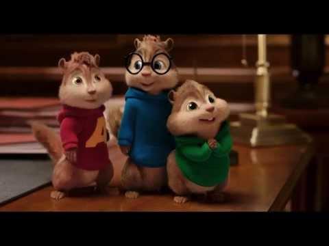 Plakat Alvin i wiewiórki