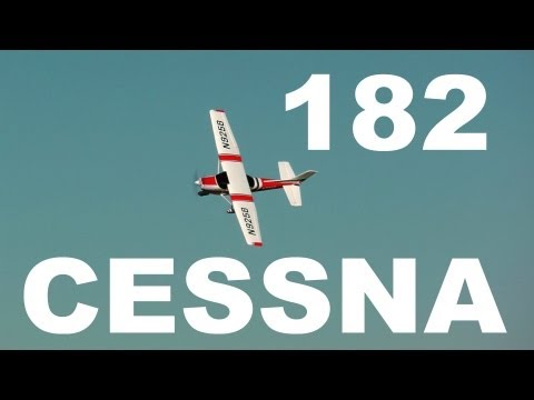 Cessna 182 Skylane 1400mm flight review and build guide