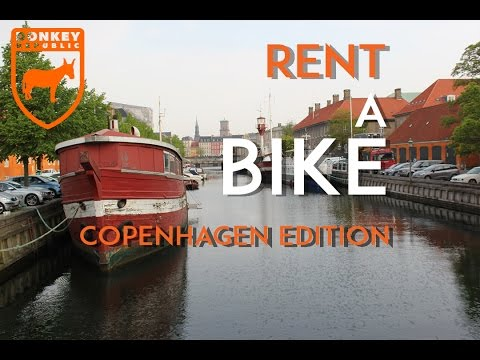 """Rent a bike!"" promo (DONKEY republic) Copenhagen"
