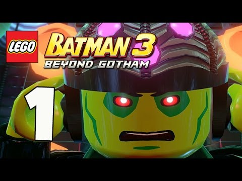 LEGO Batman 3: Beyond Gotham - Pursuers in the Sewers - Part 1 (Xbox One Gameplay)