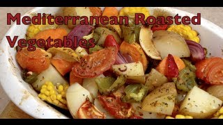 Mediterranean Oven Roasted Vegetables Video Recipe Cheekyricho