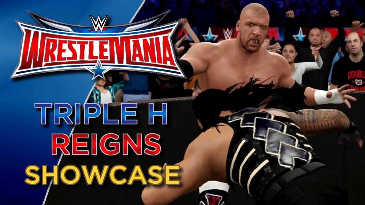 Download WWE 2K16 Roman Reigns vs Triple H Showcase (Wrestlemania 32)