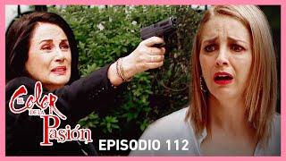 El color de la pasión: ¡Milagros se entera que Rebeca mato a Federico! | C-112 | Tlnovelas