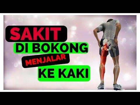 cara menghilangkan nyeri di bokong (english subtitle)