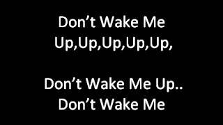 Chris Brown - Don't Wake Me Up (NEW D1 Remix) [Lyrics]
