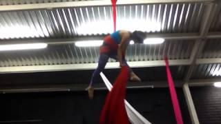 Aerial Silk time!