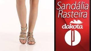 Sandália Rasteira Feminina Dakota - 6091445885