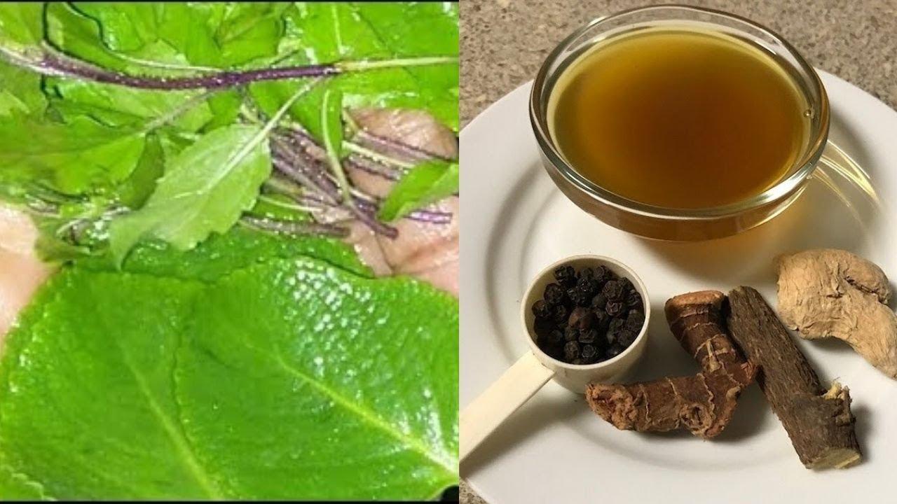 Tamil Herbal Medicine For Common Cold and Fever in tamil #Herbalmedicine
