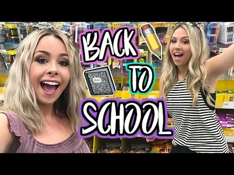Back To School Giveaway Shopping