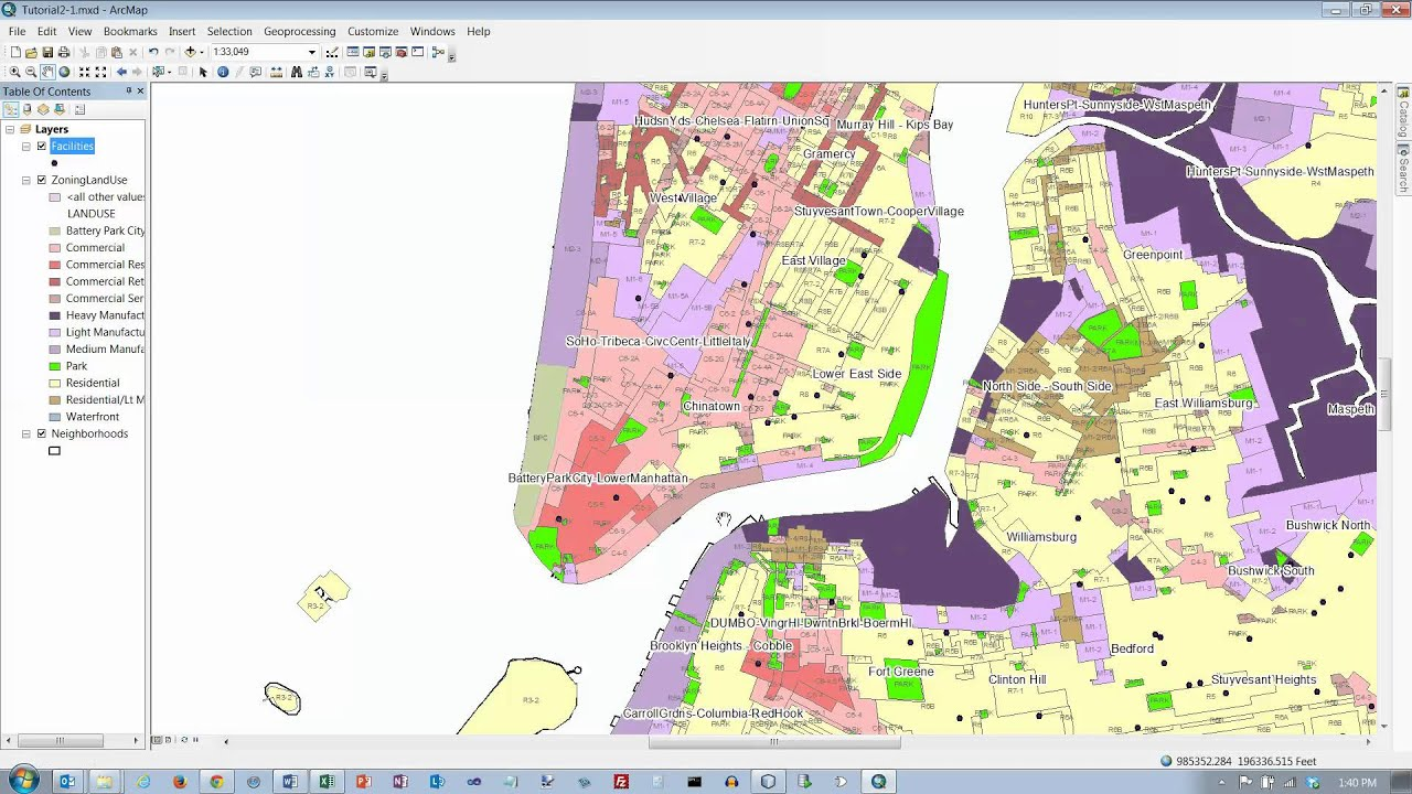 ArcGIS 10.1 Tutorial, 2-1 - YouTube