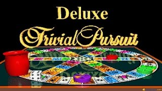 Deluxe Trivial Pursuit gameplay (PC Game, 1992)