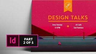 كيفية إنشاء بطاقة بريدية في InDesign (2/5) | Adobe Creative Cloud