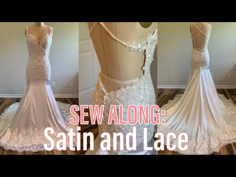 sew-along:-satin-and-lace-wedding-dress