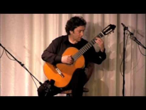 David Tanenbaum performs Hans Werner Henze- Royal Winter Music, the 1st movement, Gloucestor.m4v