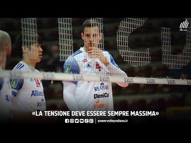Superlega, intervista post Verona - Milano di Jan Kozamernik