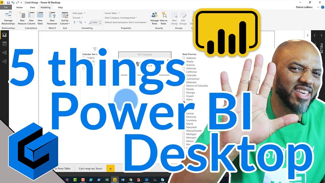 5 things you didn't know about Power BI Desktop