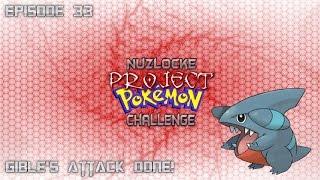 """Roblox projeto Pokemon Nuzlocke Challenge-#33 """"o ataque de Gible feito!""""-Comentários ao vivo"""