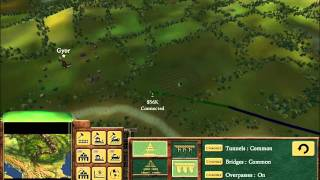 Railroad Tycoon 3 Gameplay - Orient Express 1 (HD)