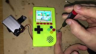 Download lagu Pocket PiGrrl 3D Printed Gameboy MP3