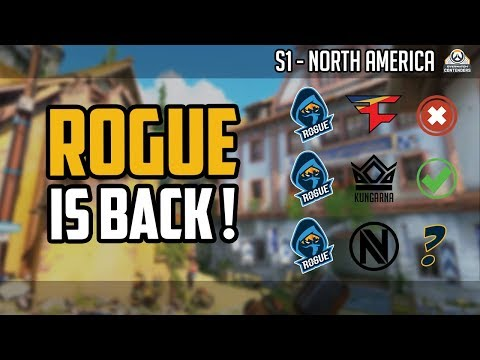 Rogue is Back ! Le point avant le match face à Team EnVyUs - Overwatch Contenders S1 NA