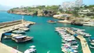 Анталья Турция достопримечательности и отдых онлайн в Antalya Turkey attractions photos HDR(Сейчас Анталья - шикарный отдых в Турции с огромным количеством интересных аттракционов и достопримечател..., 2014-09-18T13:57:09.000Z)