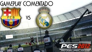 PES 2012 | F.C. Barcelona vs Real Madrid | Gameplay Comentado | PS3 | HD