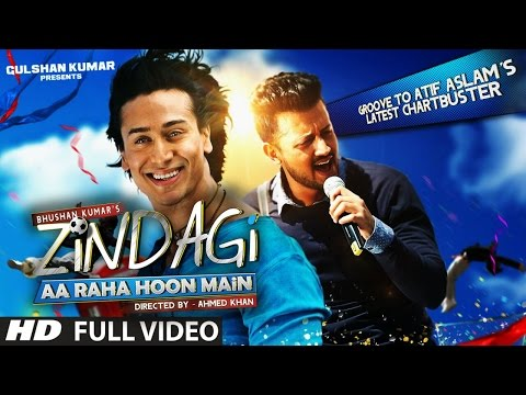 Thumbnail: Zindagi Aa Raha Hoon Main FULL VIDEO Song | Atif Aslam, Tiger Shroff | T-Series