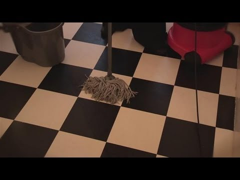 How To Clean Vinyl Flooring YouTube - How to clean marley floor
